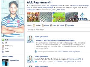 Alok Raghuwanshi Facebook Profile