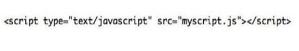 JavaScript, CSS Scipt