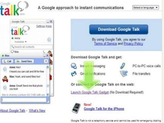 13 REASONS WE LOVE GOOGLE - Google Talk. Gtalk