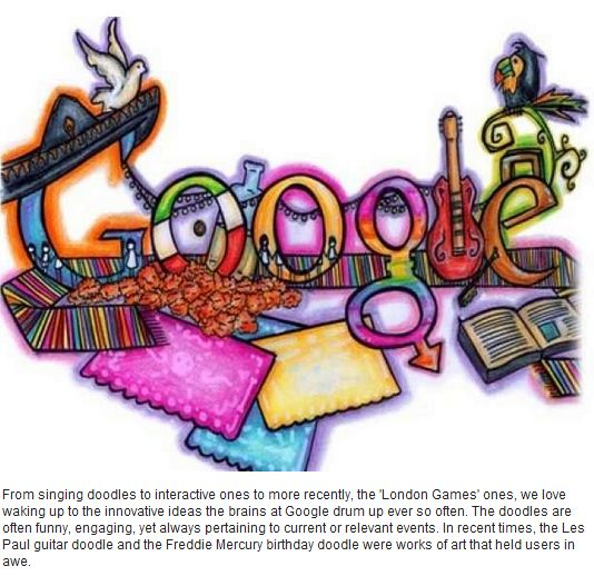 13 REASONS WE LOVE GOOGLE! - Doodles - Google