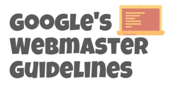 Google's Webmaster Guidelines 2015