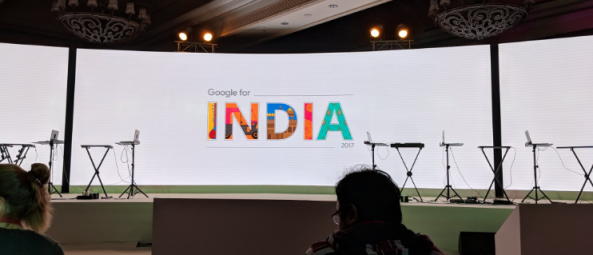 Google for India event in New Delhi 2017